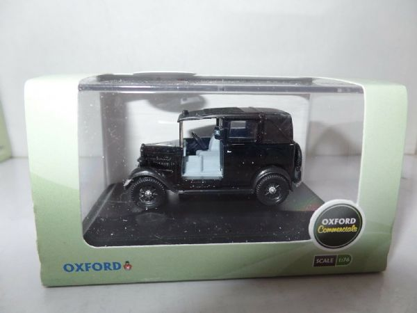 Oxford 76AT001 AT001 1/76 OO Scale Austin Low Load Taxi Cab London Black